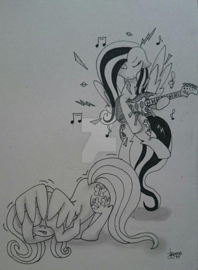MLP: Fluttershy and Emoshy by Elmer157Typhlosion