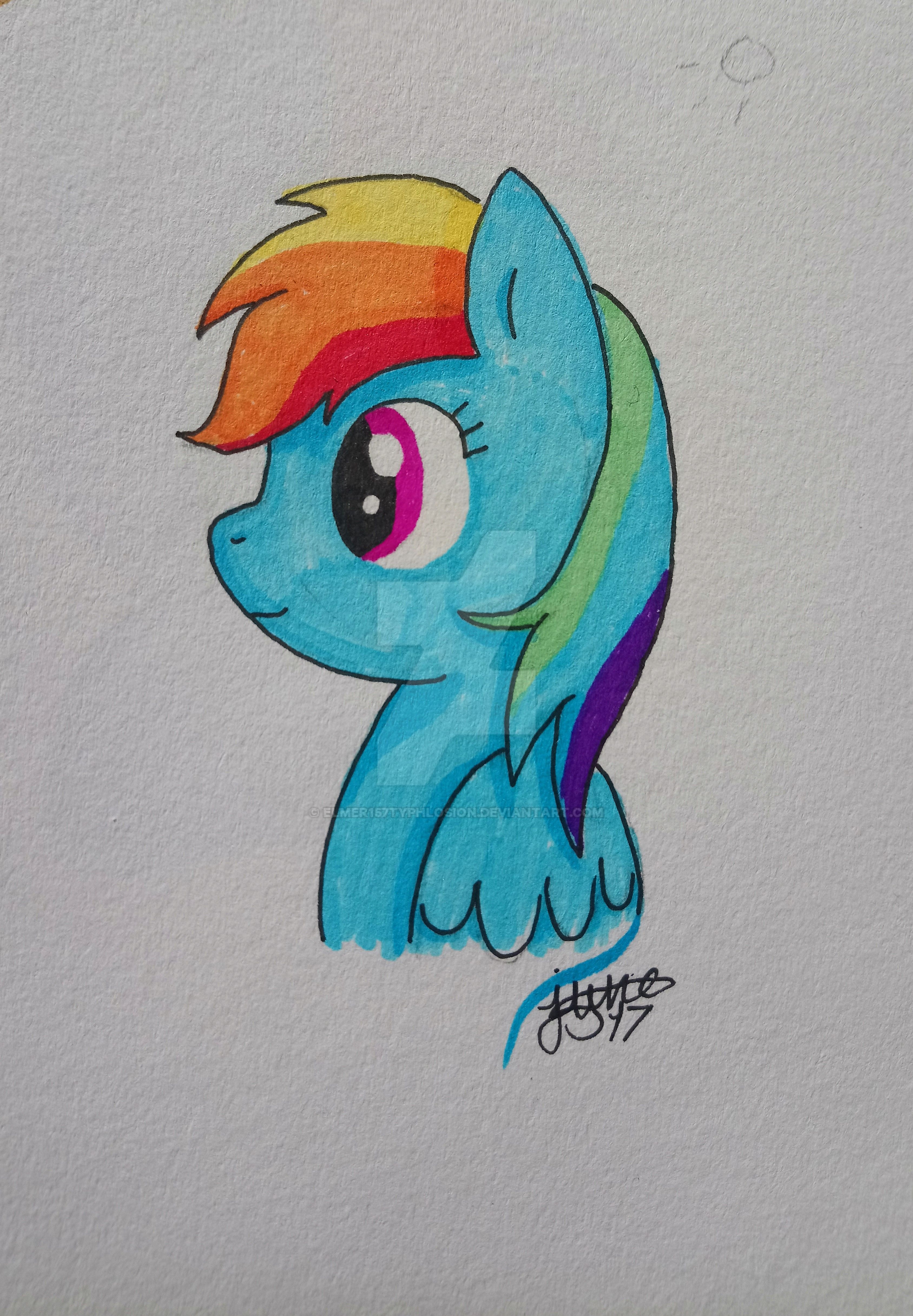 MLP: Rainbow Dash by Elmer157Typhlosion