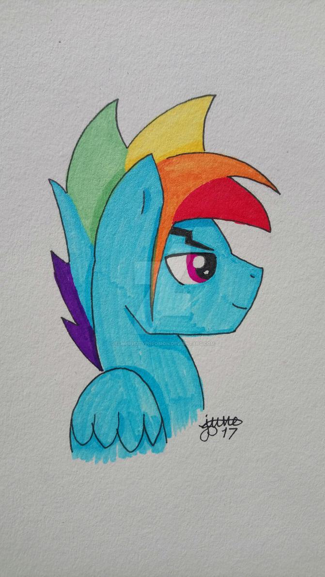 MLP Gender Bender: Rinbow Blitz by Elmer157Typhlosion