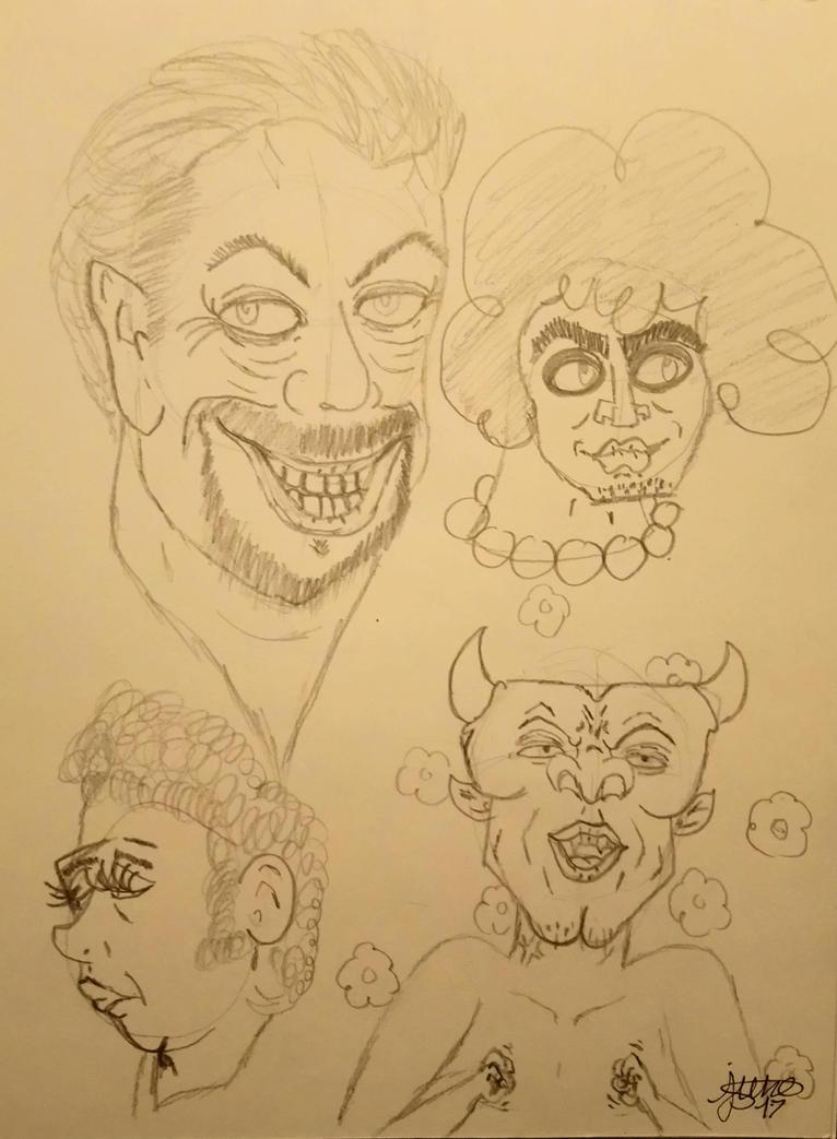 Art class - cartoon  by Elmer157Typhlosion
