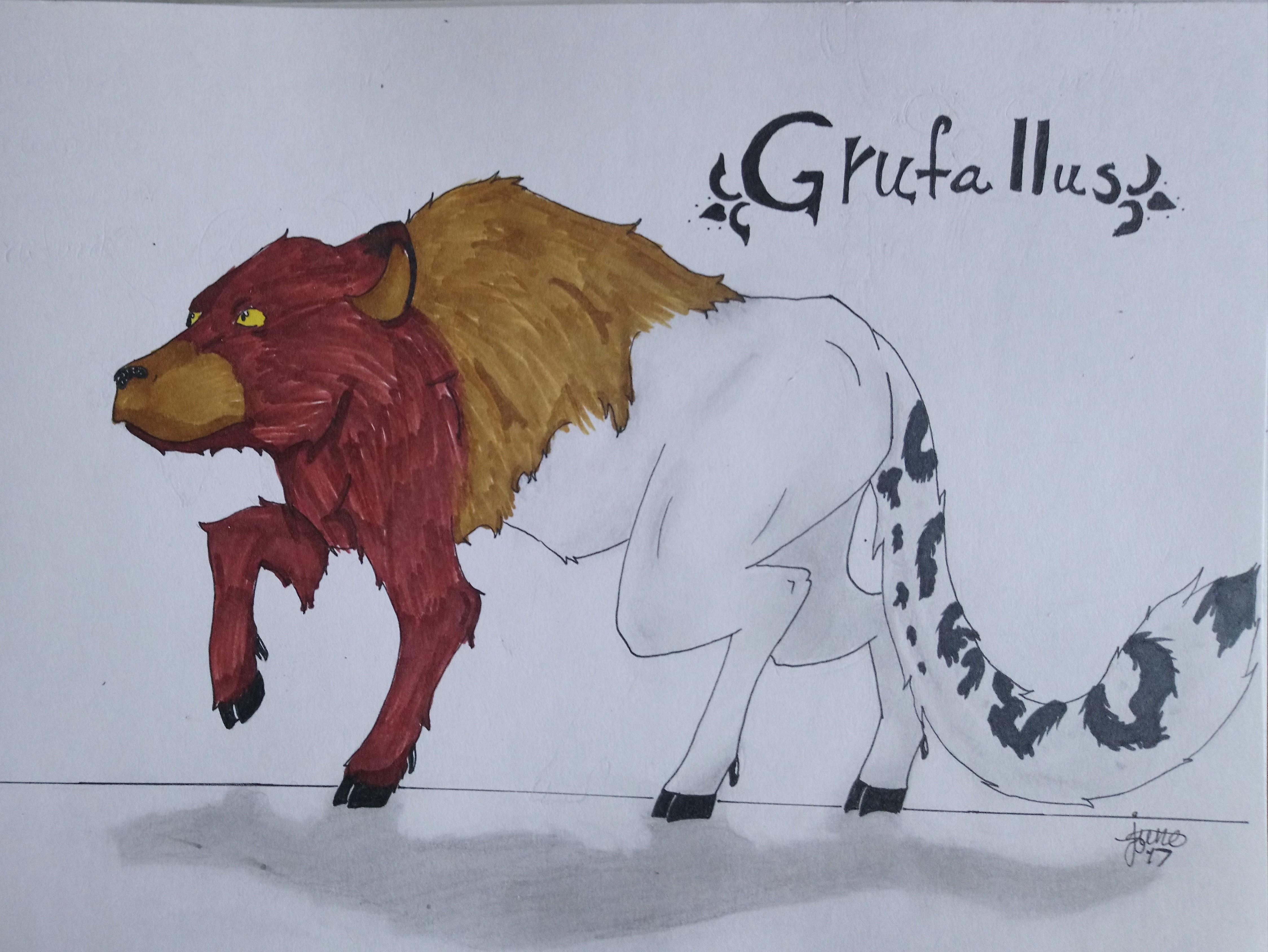 Grufallus  by Elmer157Typhlosion
