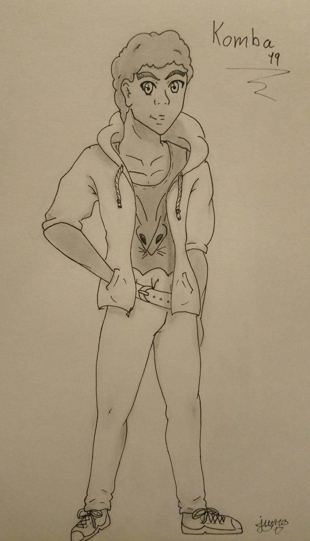Bakugan: grown up Komba by Elmer157Typhlosion
