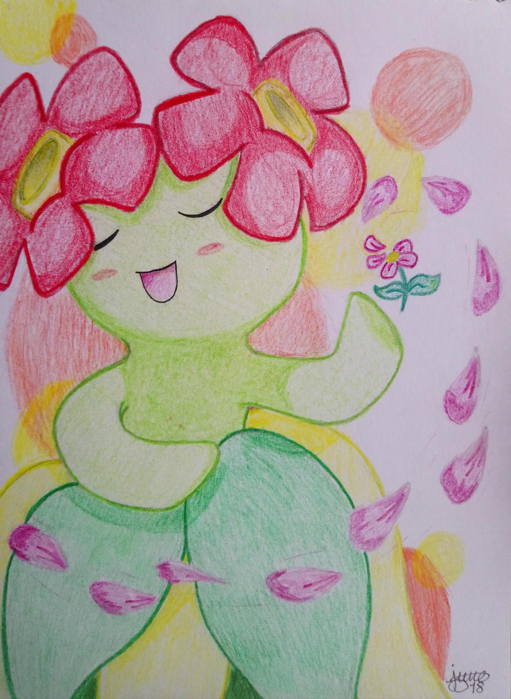 Pokmon: Bllossom flower danc  by Elmer157Typhlosion