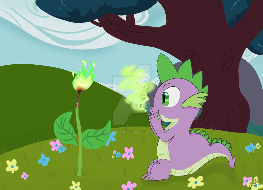 MLP: Spike Day by Elmer157Typhlosion