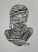 Inktober: Day 7 - Mummy by Elmer157Typhlosion