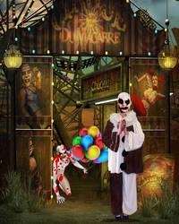 Pierrot of Hearts by Reddawgi