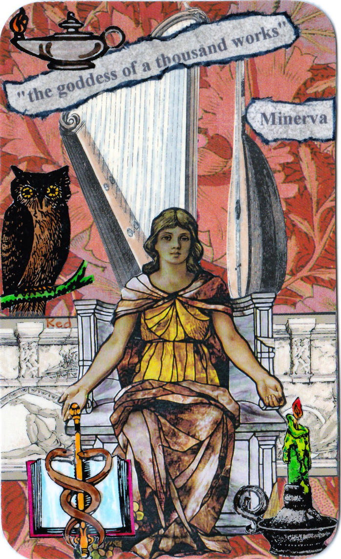Minerva by Reddawgi