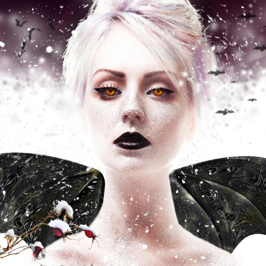 Bats of Winter by Reddawgi