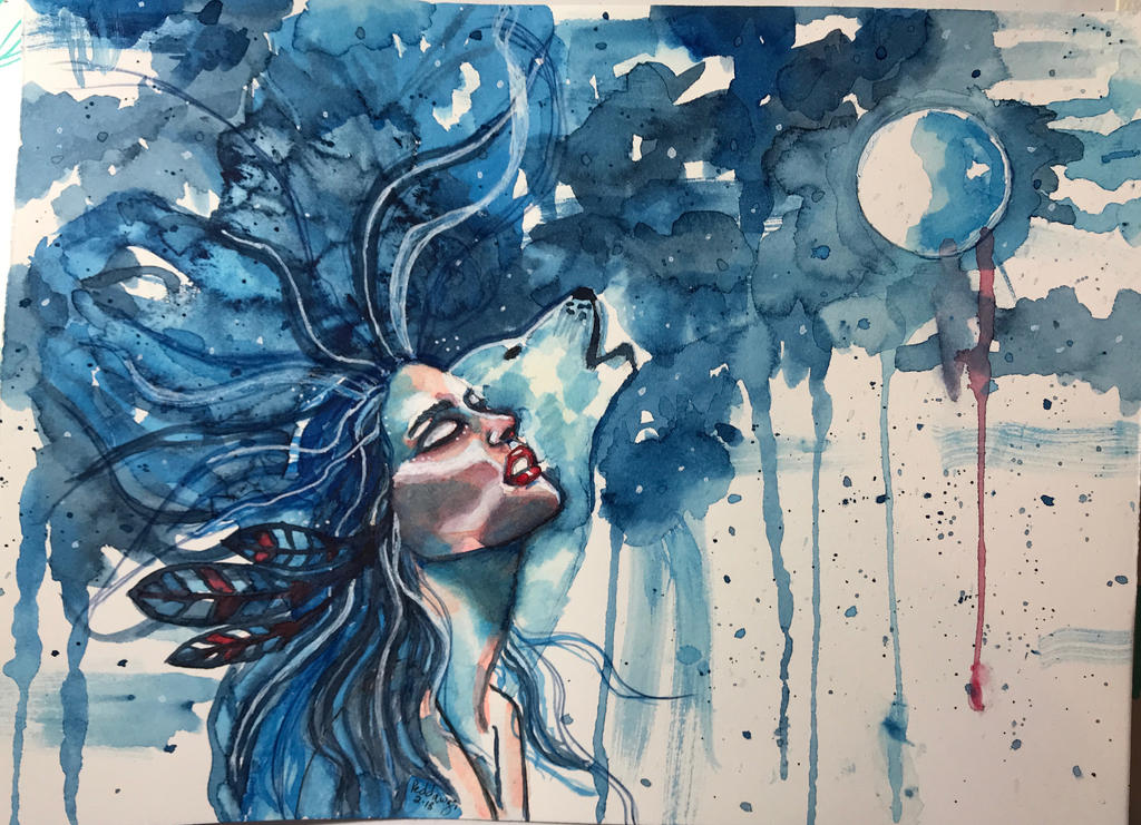 Blood Moon by Reddawgi