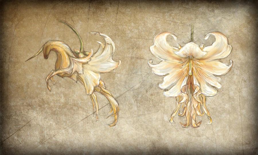 ¡Concurso! Flora de Dust Unicorn_flower_by_qarrezel-d4mpmoa