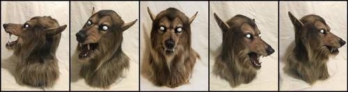 Brown Werewolf by Qarrezel