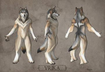 Vrika Character Reference by Qarrezel