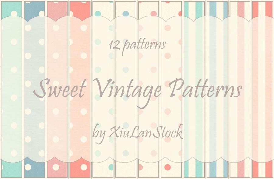 Sweet Vintage Patterns