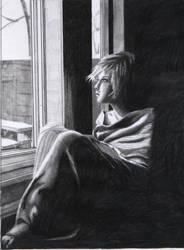 gazing through the unknown by Fatmalovestodraw
