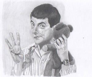 Three- Mr. Bean by Fatmalovestodraw