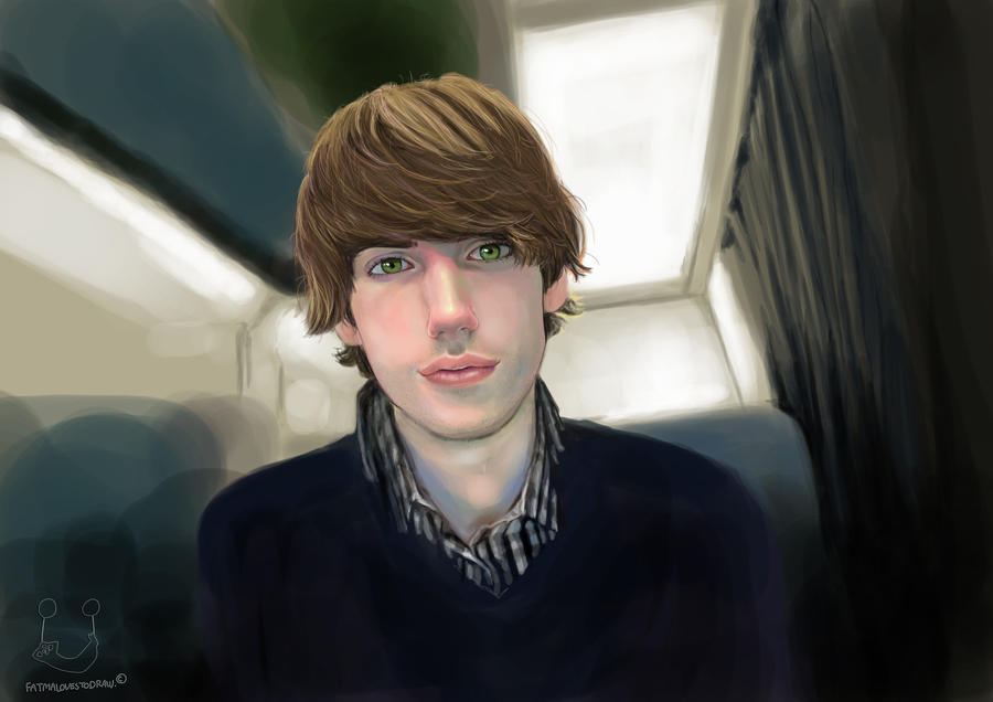 David Karp by Fatmalovestodraw