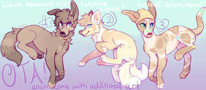 $ OTA - Fox and Hounds Adopts [OPEN] by avocadog