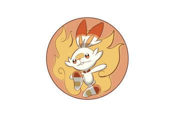 pokemon gen 8 starters: Scorbunny