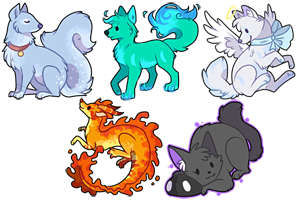 Akku Icons by Keshi-Commish