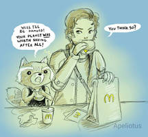 The First McMuffin  by Apeliotus