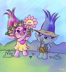 Trolls - Spring by Apeliotus