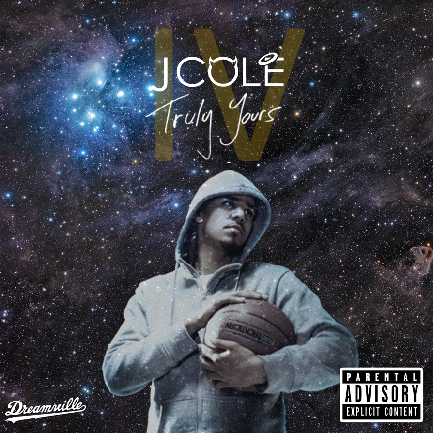 Truly Yours 4 J Cole Mixtape By Joshsalbumart On Deviantart
