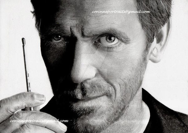 Hugh LAURIE by Sadness40