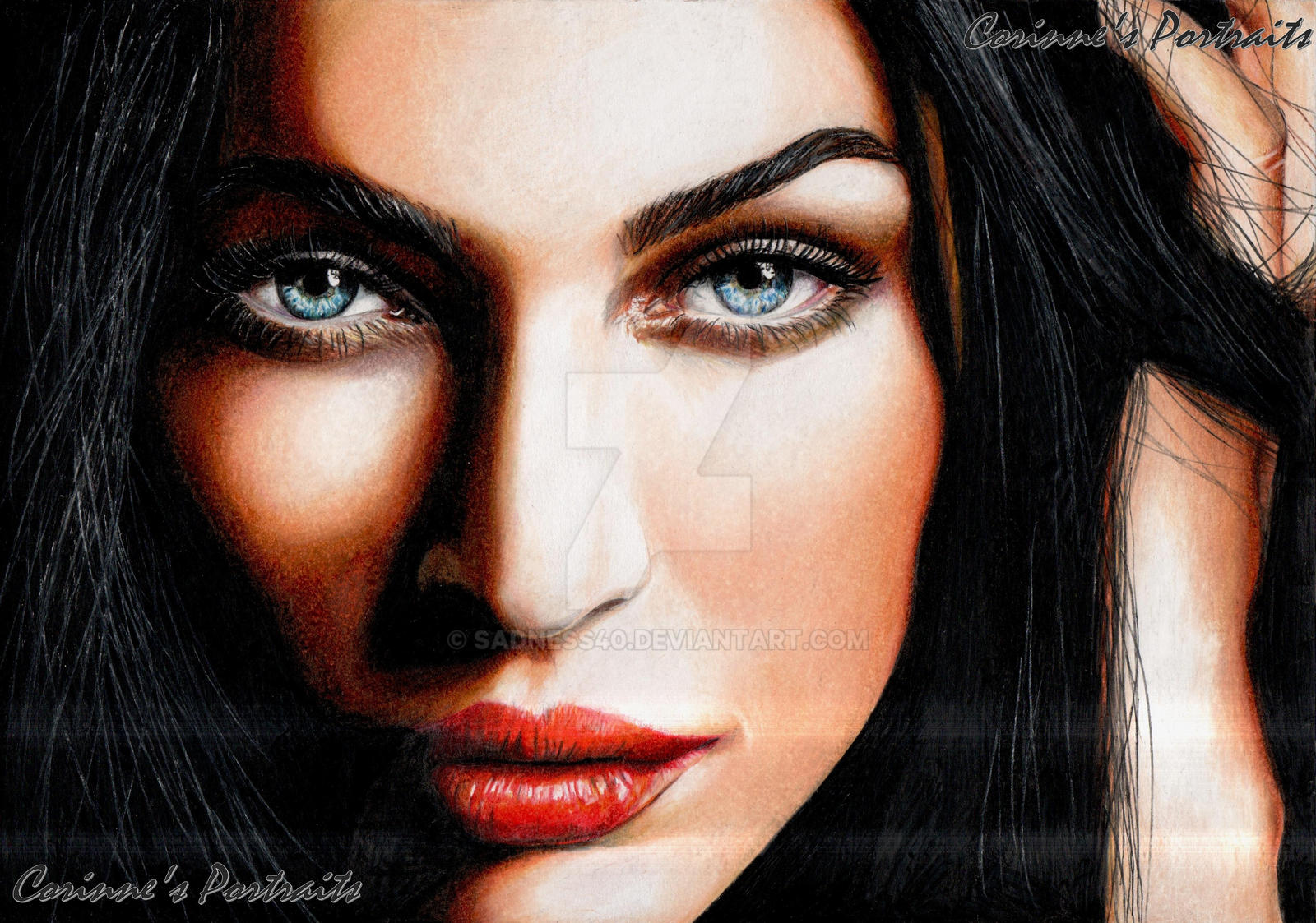 Megan FOX by Sadness40
