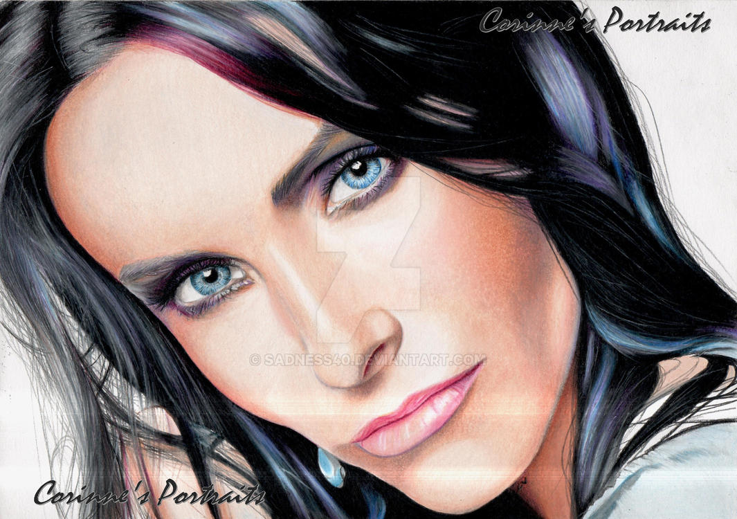 Courteney COX by Sadness40