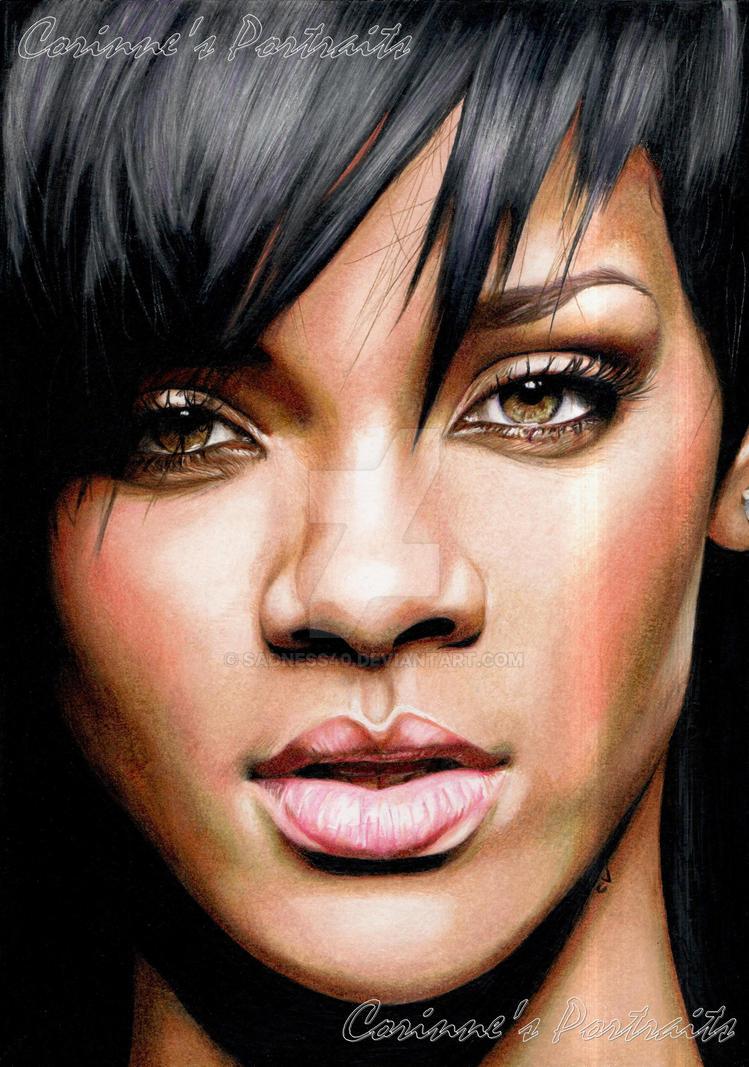 Rihanna by Sadness40