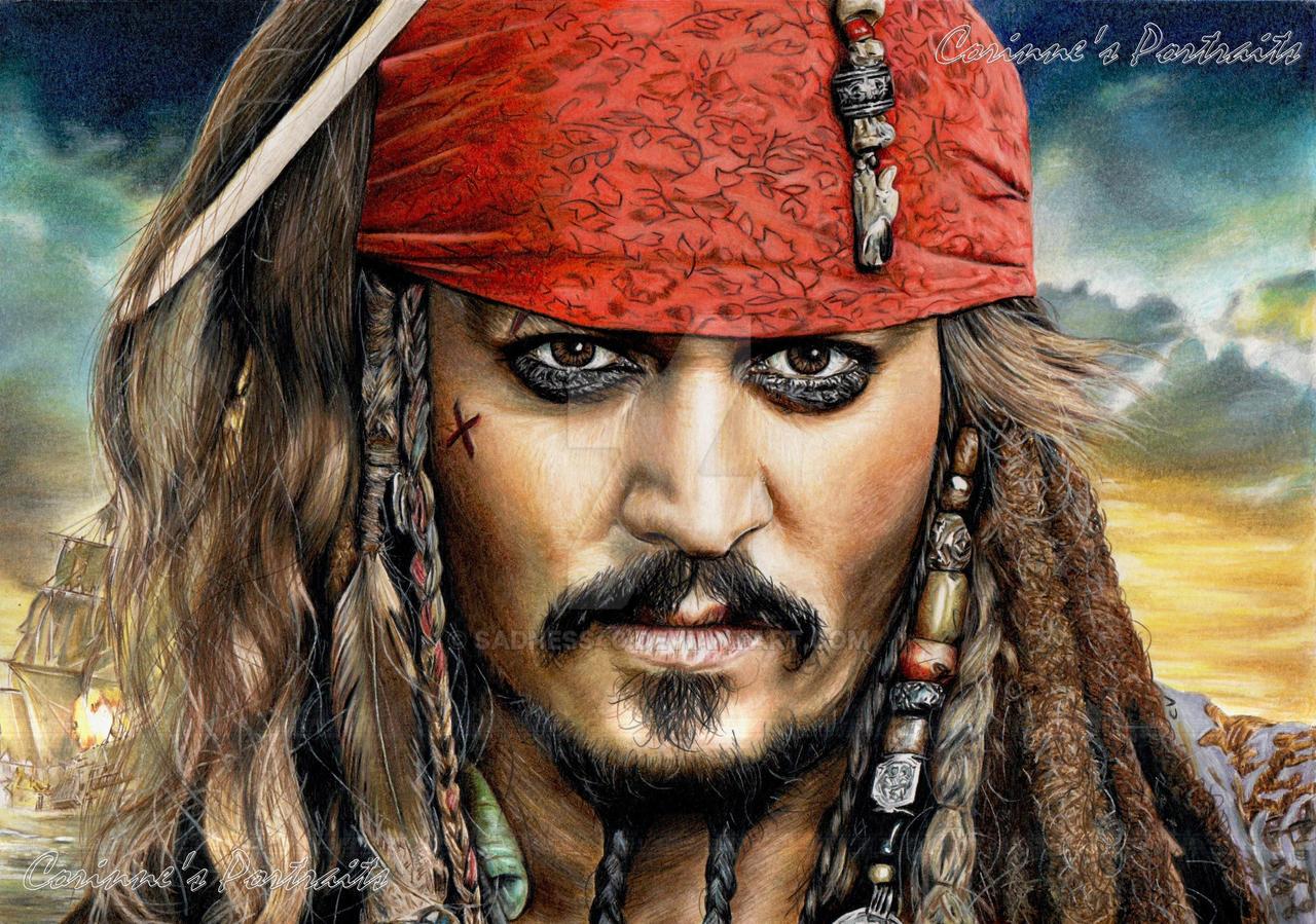 Johnny depp by sadness40 on deviantart - Dessin pirate des caraibes ...