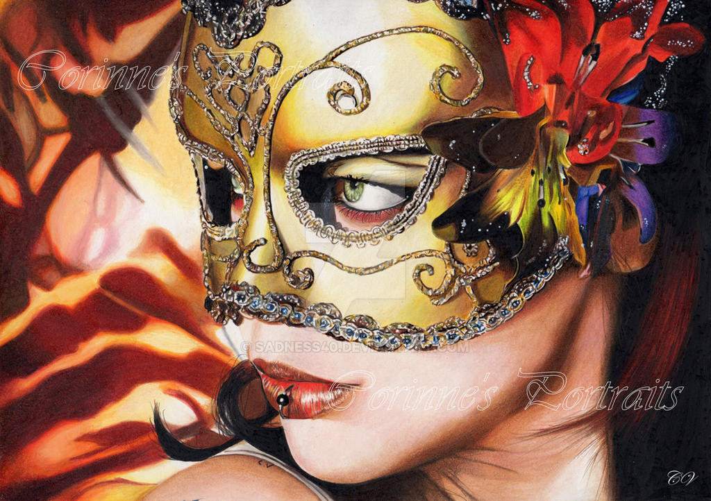 Masque/Mask by Sadness40