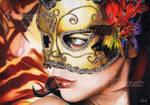 Masque/Mask by Sadness40