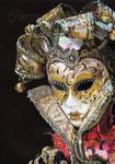 Venetian Mask by Sadness40