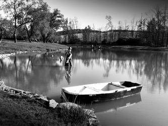 A pond 3 by Pauline-graphics