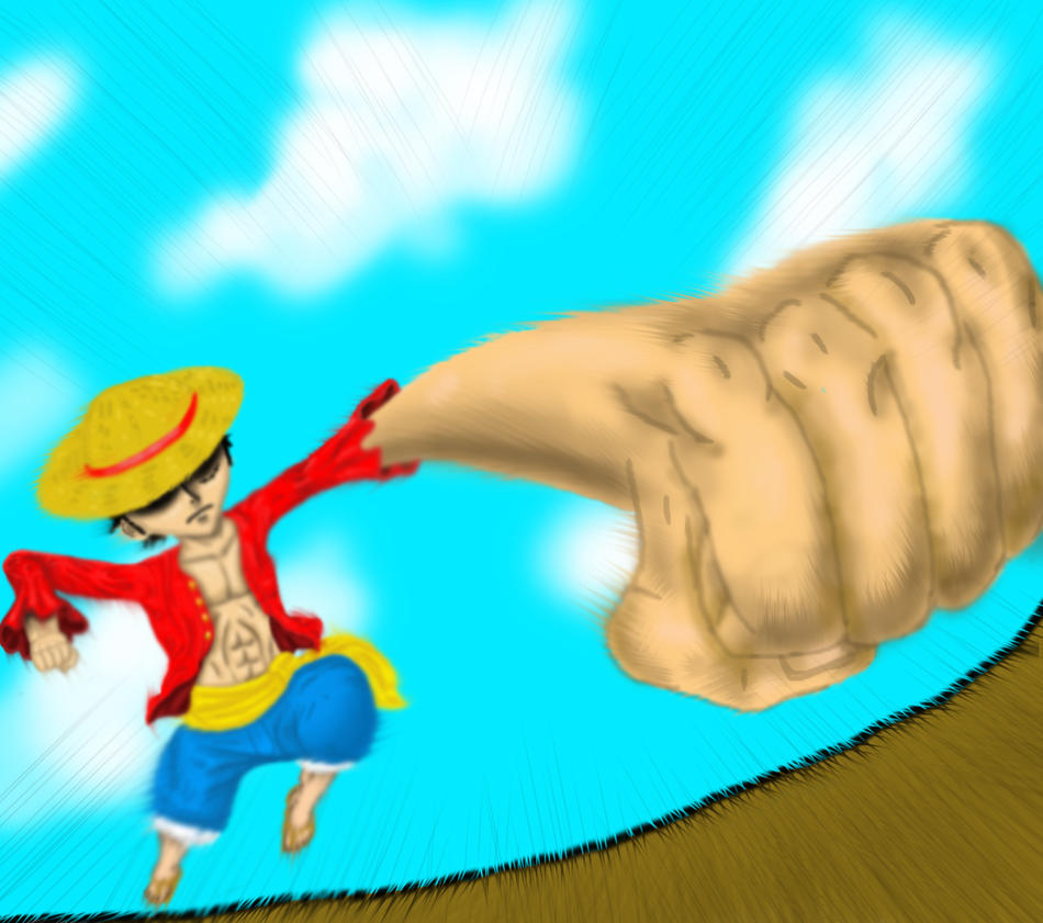 Luffy Punch by Anti-Hero25336