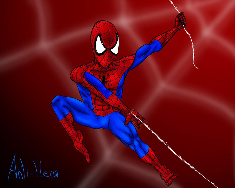 Spider-Man Fan Art by Anti-Hero25336