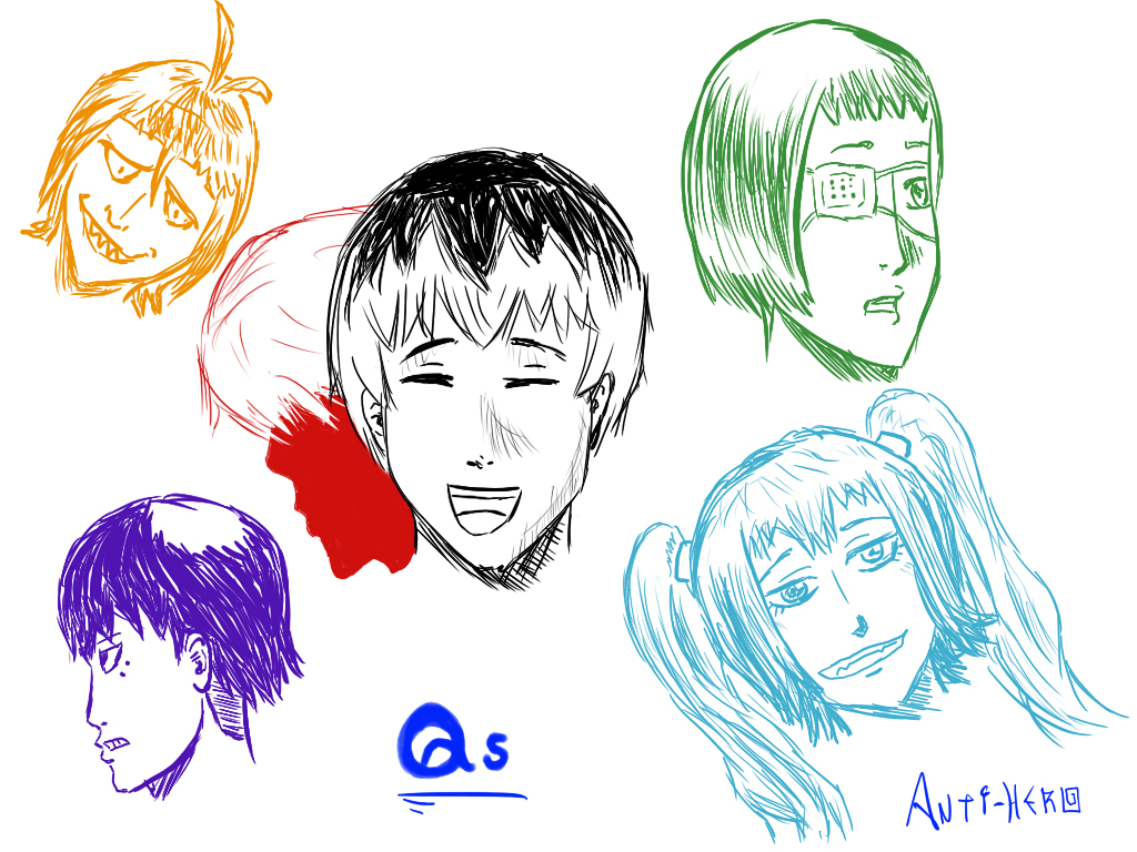 Tokyo Ghoul: Re - Qs by Anti-Hero25336