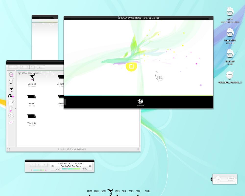 GAIA OSX by nanu08