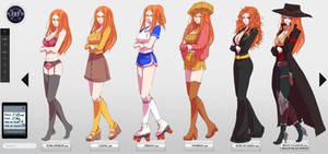 Gigi meme outfits by yamixitachi