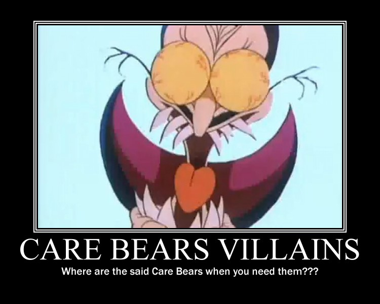 Care Bears Villains by ~EspyCat on deviantART
