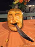 Carved a Ninja Pumpkin