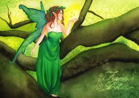 Spirit of forest by Gwennol