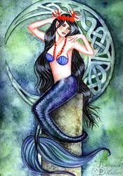 Mystic Mermaid by Gwennol