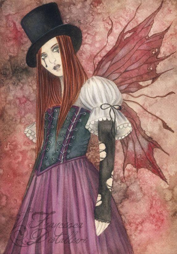 Crimson Wings by Gwennol