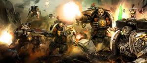 Deathwatch vet Warhammer