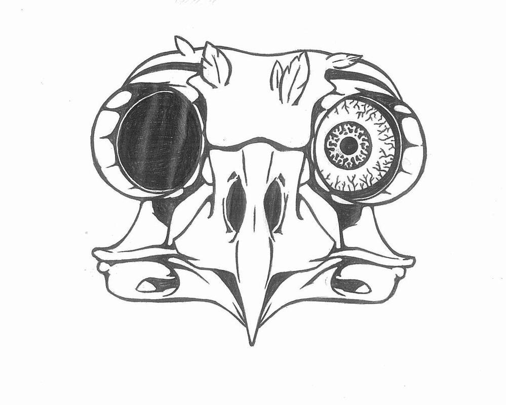 Eagle Skull T Shirt Design Second Part By Meselo De