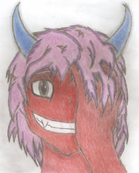 Daemonette portrait by vtheyoshi