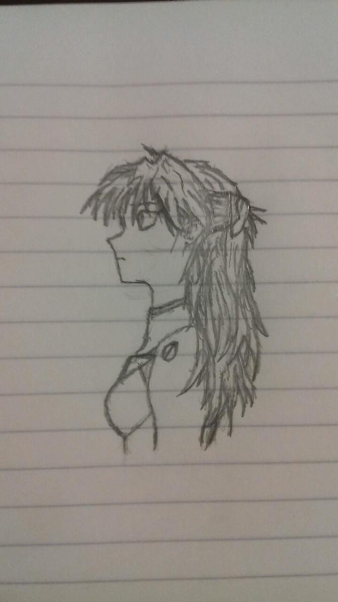 Asuka sketch by vtheyoshi