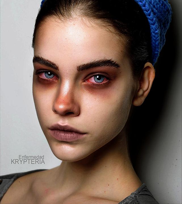 Digital Make up - Sickness by KrypteriaHG on DeviantArt